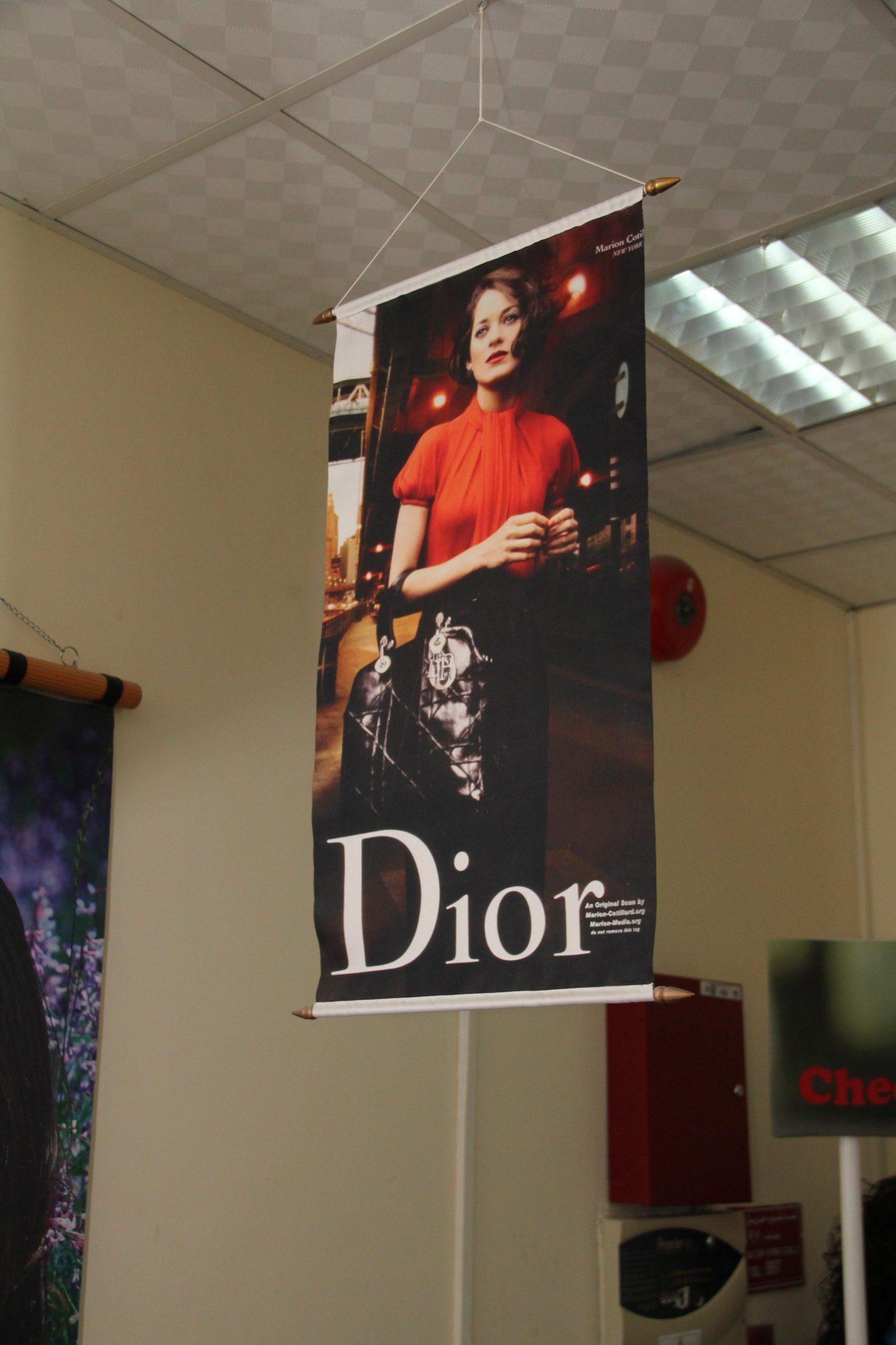 Drop Down Hanging Banner Mermaid Digital