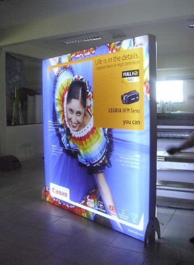 Fabric Light Box Display Solutions