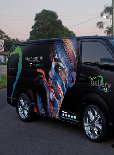 vehicle branding company in Dubai